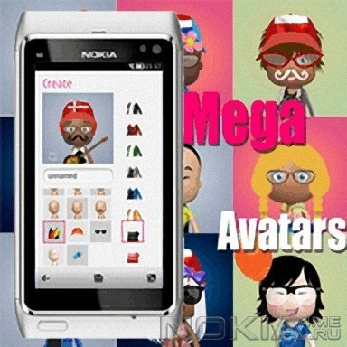 Mega Avatars - делаем аватары на Symbian