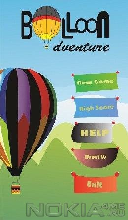 Balloon Adventure - Игра для Symbian^3 / Belle