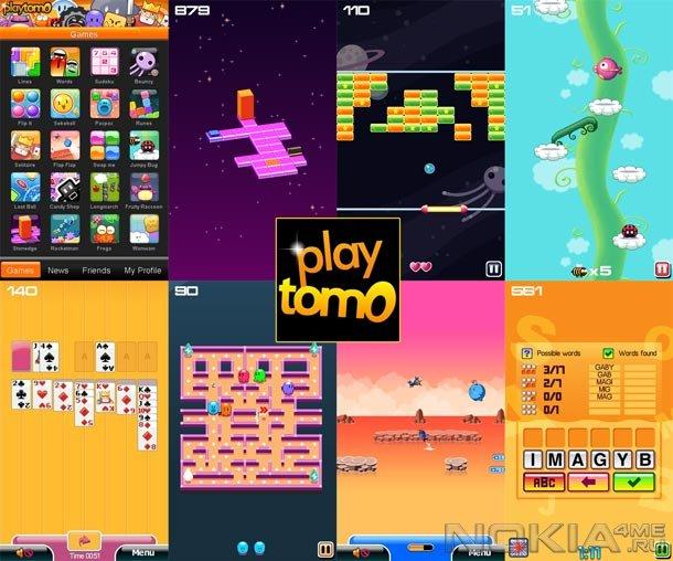 playtomo - Коллекция мини-игр на Windows Phone 7 и выше