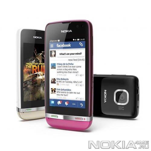 Российский старт продаж телефона Nokia Asha 311