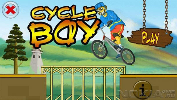CycleBoy - Игра для Symbian^3 / Anna / Belle
