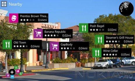 Nokia и дополненная реальность