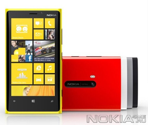 Анонсирован флагман Nokia - WP8-смартфон Lumia 920 с технологией PureView