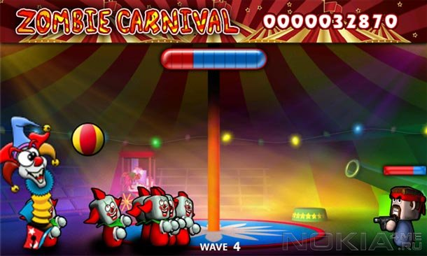 Zombie Carnival - Игра для Windows Phone 7.5 и выше