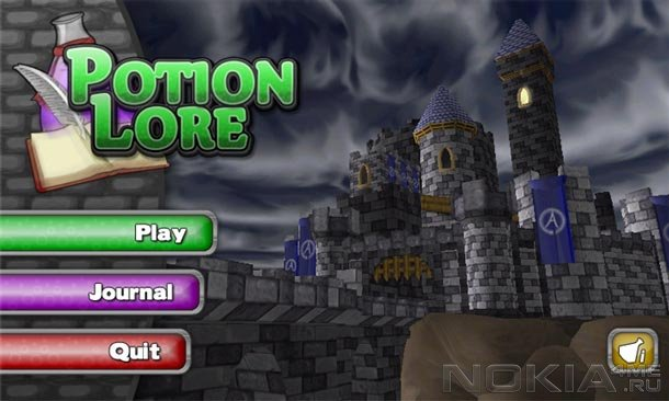 Potion Lore - Игра для Windows Phone 7.5 и выше