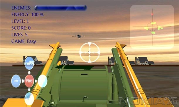 Anti-aircraft Warfare - Игра для Windows Phone 7.5 и выше