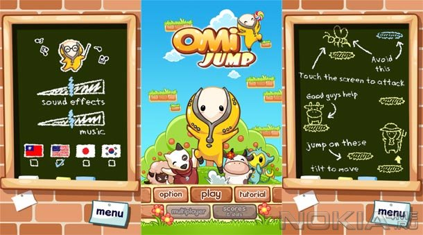 Omi Jump - Игра для Windows Phone 7 и выше