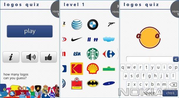 Logos Quiz+ - Головоломка для Windows Phone 7.5 и выше