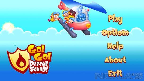 Go! Go! Rescue Squad! - Игра для MeeGo