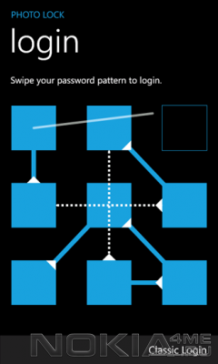 Photo Lock - Приложение Windows Phone 7.5