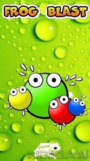 Frog Blast XXL - Игра для Symbian 9.4, Symbian^3, Anna, Belle