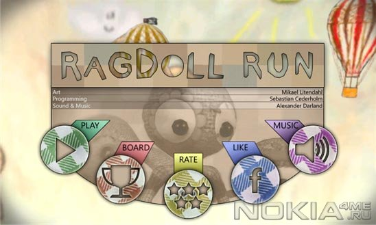 Ragdoll Run - Игра для Windows Phone 7.5 и выше