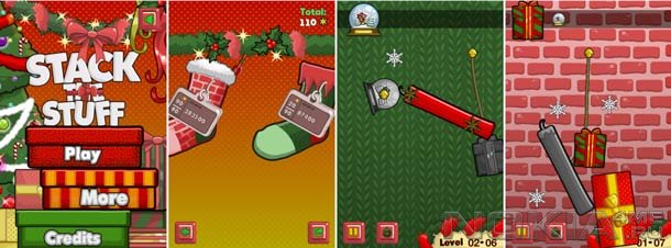Stack The Stuff - Christmas - Игра для MeeGo