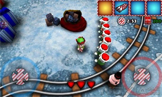 North Pole Invasion 2 - Игра для Windows Phone 7.5 / 8