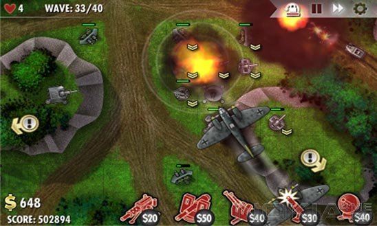 iBomber Defense - Игра для Windows Phone 8