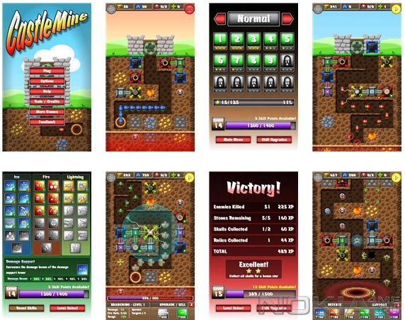CastleMine - Игра для Windows Phone 7.5 / 8