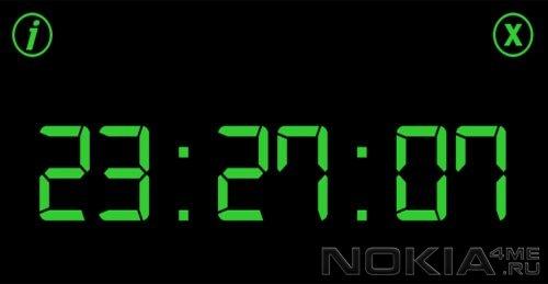 Night Clock - Ночные часы для Symbian