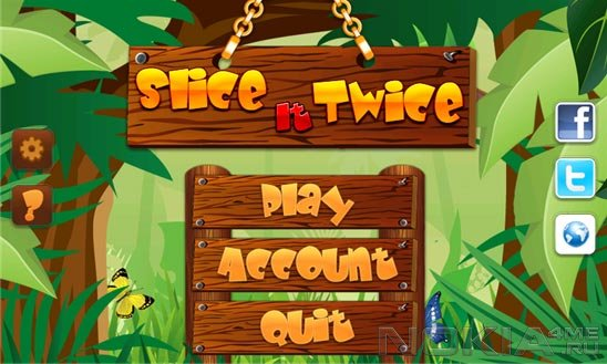 Slice It Twice - Игра для Windows Phone 7.5 - 8