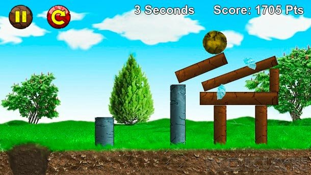 Rocks of Bella - Игра для Symbian^3