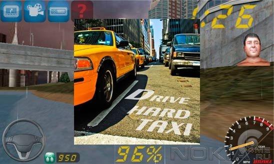 Drive Hard Taxi - Гонки для Windows Phone 7.5 / 8