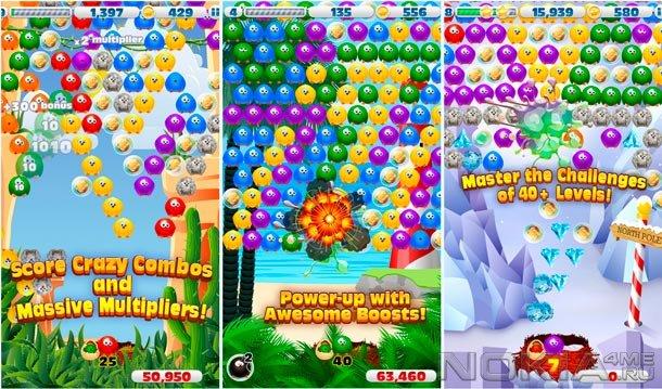 Bubble Birds 3 - Игра для Symbian^3