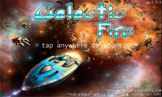 Galactic Fire - Игра для Windows Phone 7.5 / 8