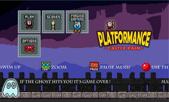 PLATFORMANCE: Castle Pain - Игра для Windows Phone 7 - 8