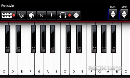 Mini Piano - Пианино на Windows Phone 7.5-8