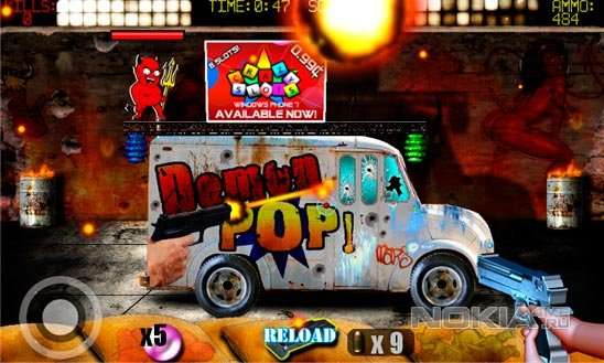 Demon Pop - Уничтожаем демонов. Игра для Windows Phone 7.5-8