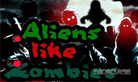 Aliens Like Zombies / Пришельцы как Зомби - Игра для Windows Phone 7.5-8