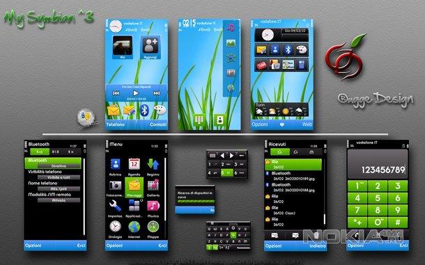 MySymbian^3 - Тема для Symbian 9.4