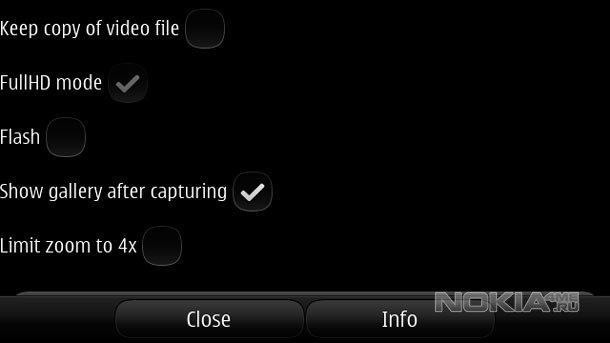 Burst Camera - Быстрая камера для Симбиан