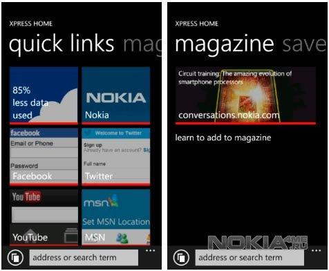 Nokia Xpress Browser - Эксклюзивный браузер для смартфонов Lumia