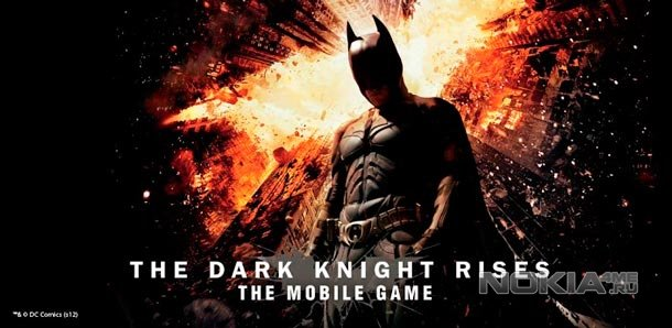 The Dark Knight Rises - Темный рыцарь: Возрождение легенды для WP8