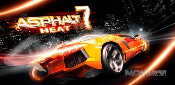 Asphalt 7: Heat / Асфальт 7 для Windows Phone 8
