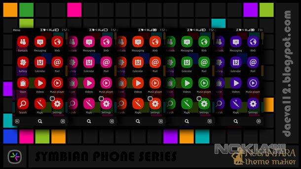 Темы на телефон symbian 94