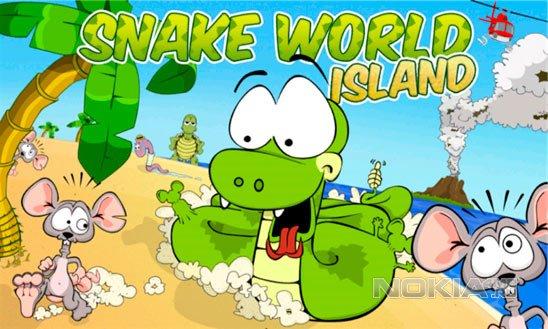 Snake World Island - Новая змейка для WP7