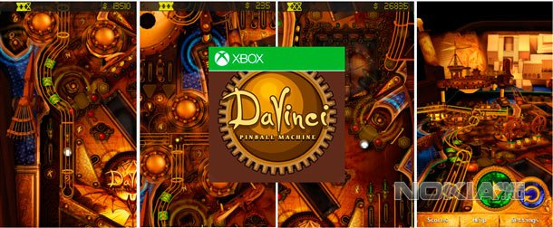DaVinci Pinball - Пинбол с XBox на Windows Phone 7-8