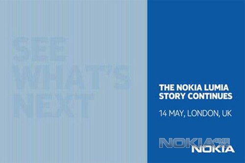 14 мая Nokia готова представить новые смартфоны Lumia