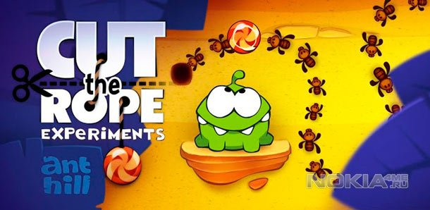 Cut the Rope: Experiments - для Windows Phone 7.5-8