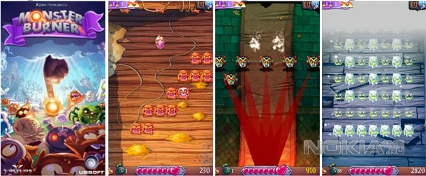 Monster Burner - Аркада для Windows Phone 7.5-8
