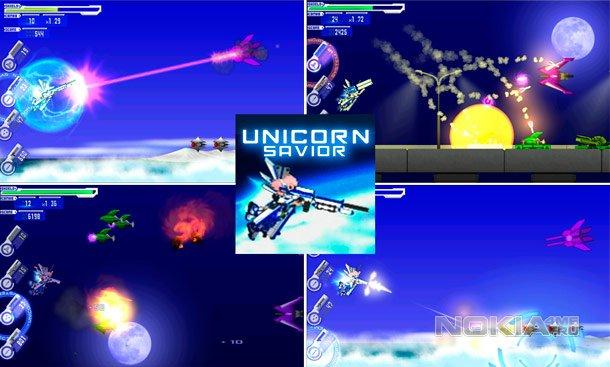 UNICORN SAVIOR - Стрелялка для Windows Phone 7.5 - 8