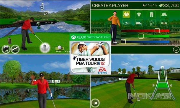 Tiger Woods 12 - Тайгер Вудс для WP7.5-8
