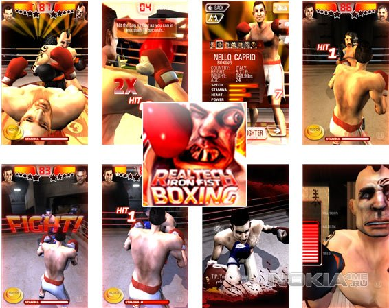 Iron Fist Boxing - Симулятор бокса на WP8