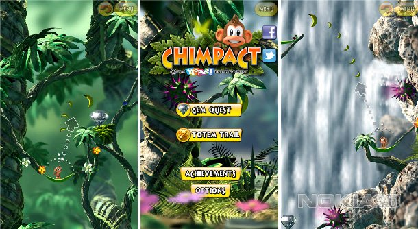 Chimpact - Обезьяний платформер для Windows Phone 8