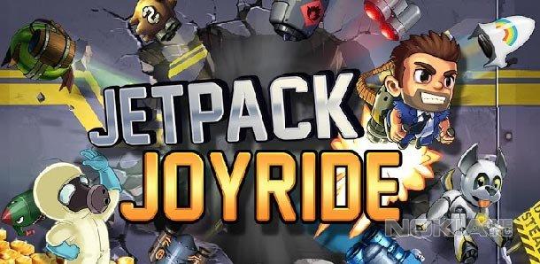 Jetpack Joyride - Игра для Nokia Lumia (WP8)
