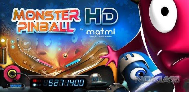 Monster Pinball HD - Монстр пинбол для WP 7.5-8