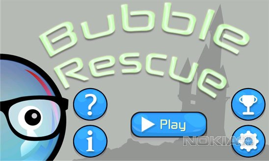 Bubble Rescue - Забавная аркада для WP 7.5 - 8