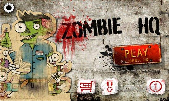 Zombie HQ - Уничтожаем зомби на WP8