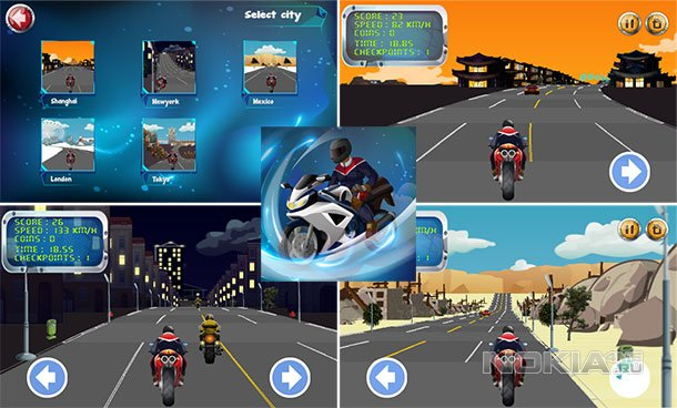 Speed Rovers - Убойные гонки на WP 7.5-8